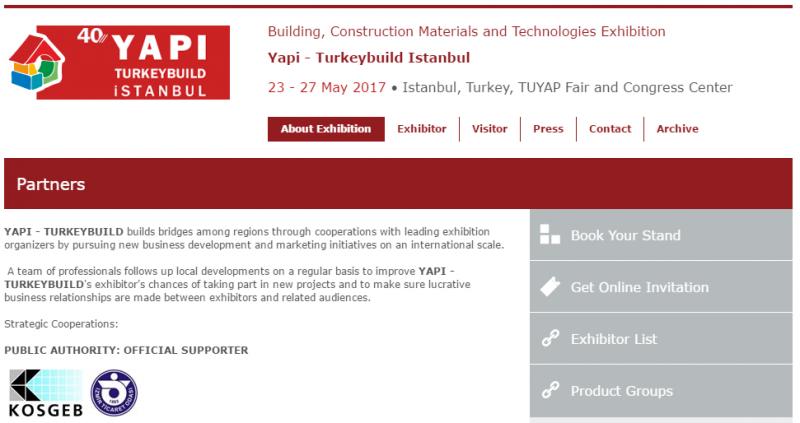Бизнес-миссия на строительную выставку в Стамбул