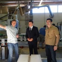 Председатель ОПОРЫ Рустем Гильманшин посетил инновационное предприятие Bolefloor
