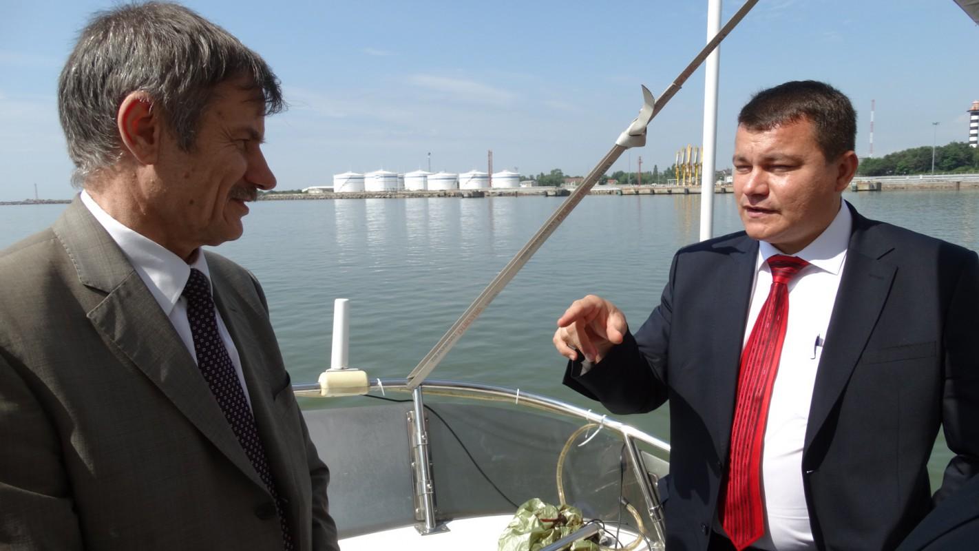 Рустем Гильманшин встретился с руководством Клайпедского морского порта.
